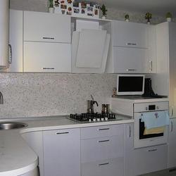 Кухню белую глянцевую
